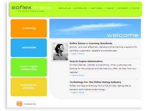 Soflex Online.com - Sarasota Media Website Design